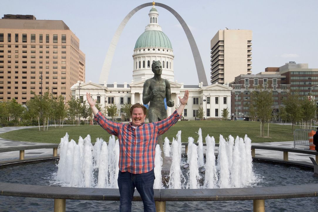 Casey Webb macht dieses Mal St. Louis im Bundesstaat Missouri unsicher ... - Bildquelle: 2017, The Travel Channel, LLC. All Rights Reserved.