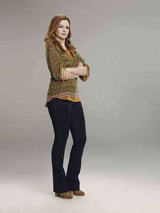 (11. Staffel) - Ein neues Familienmitglied taucht plötzlich auf: Charlies 25-jährige Tochter Jenny (Amber Tamblyn) ... - Bildquelle: Warner Brothers Entertainment Inc.