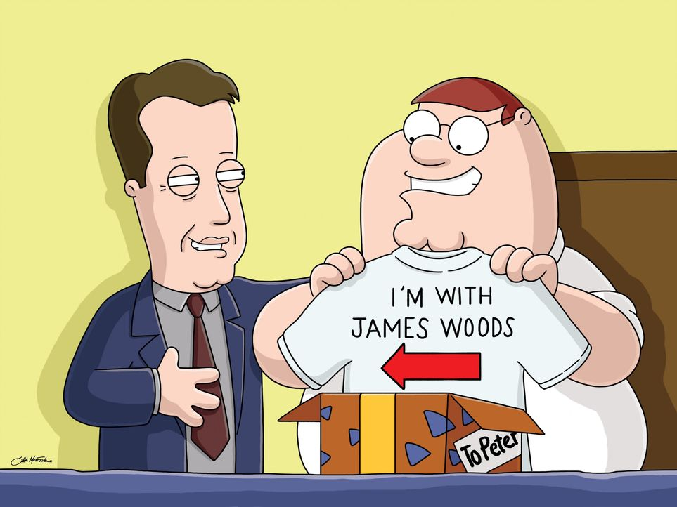 James Woods (l.); Peter Griffin (r.) - Bildquelle: 2005 Fox and its related entities. All rights reserved.