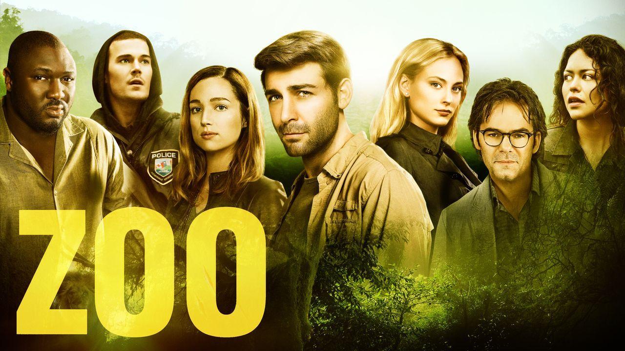 (2. Staffel) - ZOO - Plakatmotiv - Bildquelle: 2016 CBS Broadcasting Inc. All Rights Reserved.