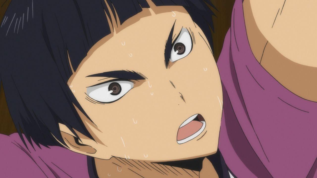 """Tsutomu Goshiki - Bildquelle: H.Furudate / Shueisha,""""Haikyu!!"""" Project, MBS Instinct"""