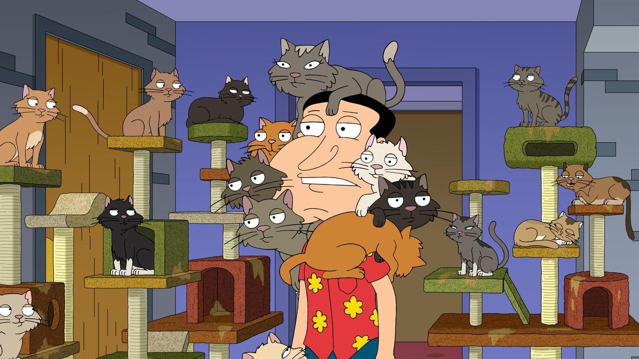 Quagmire ist von seinem neuen Katzencafé begeistert - ganz zum Leidwesen Bri... - Bildquelle: 2020-2021 Twentieth Century Fox Film Corporation. All rights reserved.