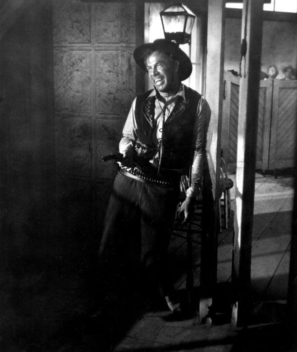 Der berüchtigte Bandit Liberty Valance (Lee Marvin) kennt keine Gnade ...