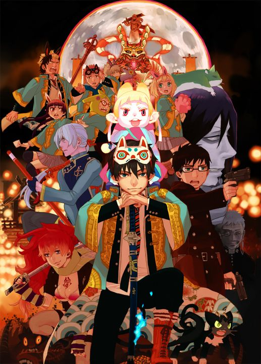 Blue Exorcist - The Movie - Artwork - Bildquelle: Blue Exorcist   Kazue Kato/SHUEISHA, Blue Exorcist Committee, MBS