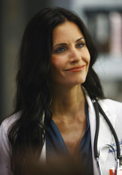 Dr. Maddox (Courteney Cox), der Ersatz für Dr. Kelso, mischt die Dinge im Krankenhaus mal kräftig auf ... - Bildquelle: Touchstone Television