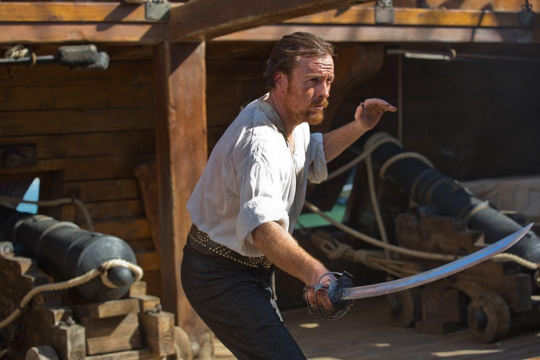 Selbst der Piraten-Captain Flint (Toby Stephens) muss sich immer wieder beweisen, um seiner Crew zu Ruhm und Reichtum verhelfen zu können ... - Bildquelle: 2013 Starz Entertainment LLC, All rights reserved