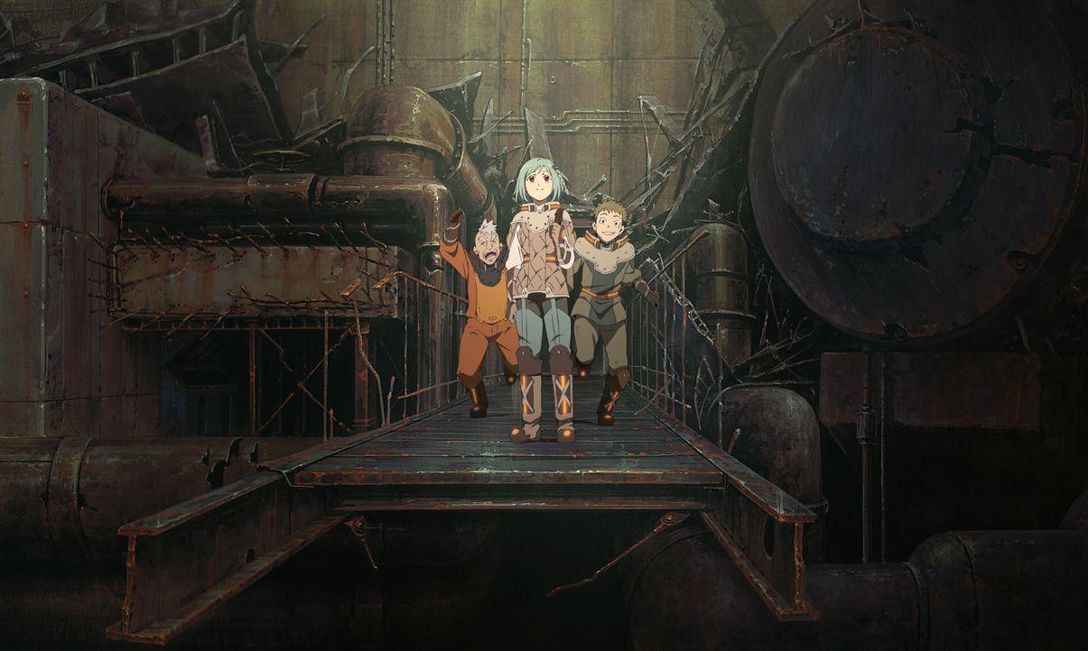 Patema Inverted - Artwork - Bildquelle: Yasuhiro YOSHIURA / Sakasama Film Committee 2013