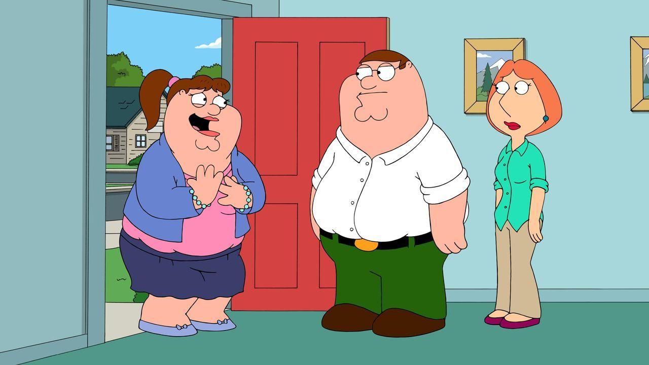 Kaum hat Peter Lois seine Vergangenheit als Samenspender gebeichtet, schon klingelt Abkömmling Katie (l.) an der Tür - doch sie ist nur die Spitze d... - Bildquelle: 2016-2017 Fox and its related entities. All rights reserved.