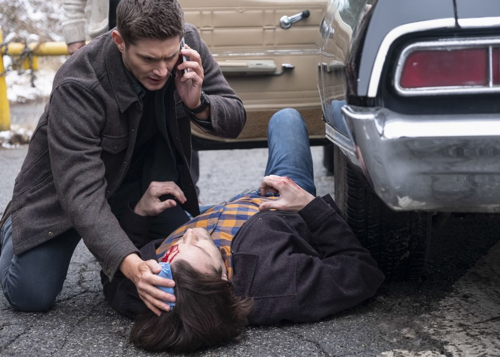 Dean Winchester (Jensen Ackles, l.) - Bildquelle: Michael Courtney 2018 The CW Network, LLC All Rights Reserved / Michael Courtney