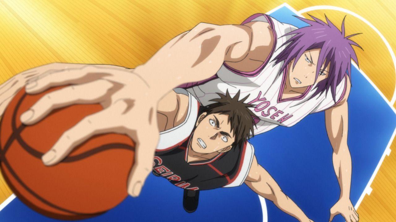 Die Seirin Oberschule schöpft Hoffnung auf den Sieg, als Atsushi sich aus de... - Bildquelle: Tadatoshi Fujimaki/SHUEISHA, Team Kuroko