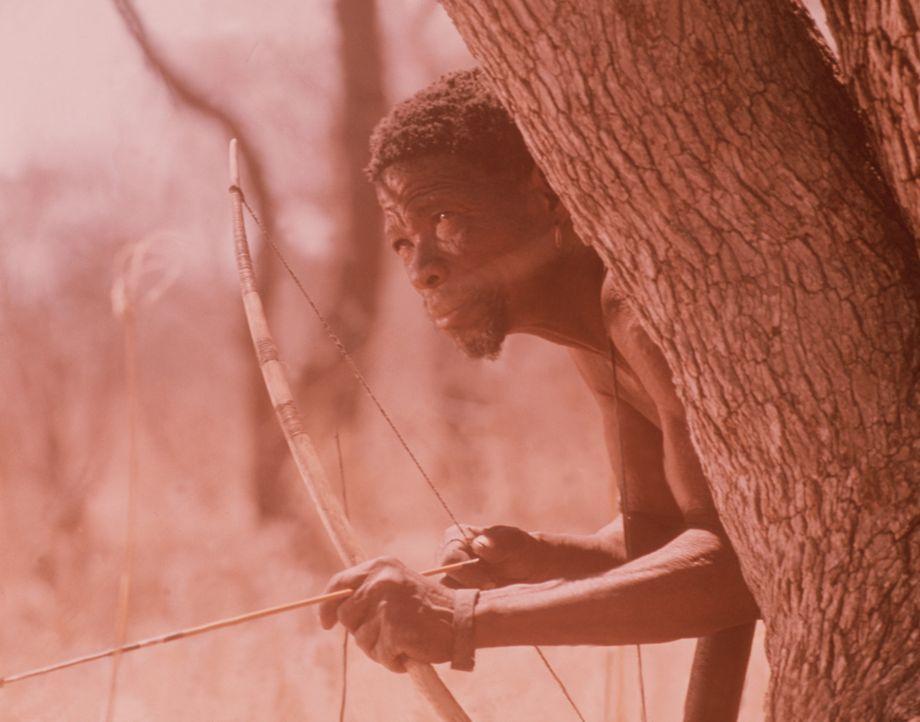 Ein Eingeborener der Namibiwüste auf der Jagd ... - Bildquelle: Warner Bros. Pictures