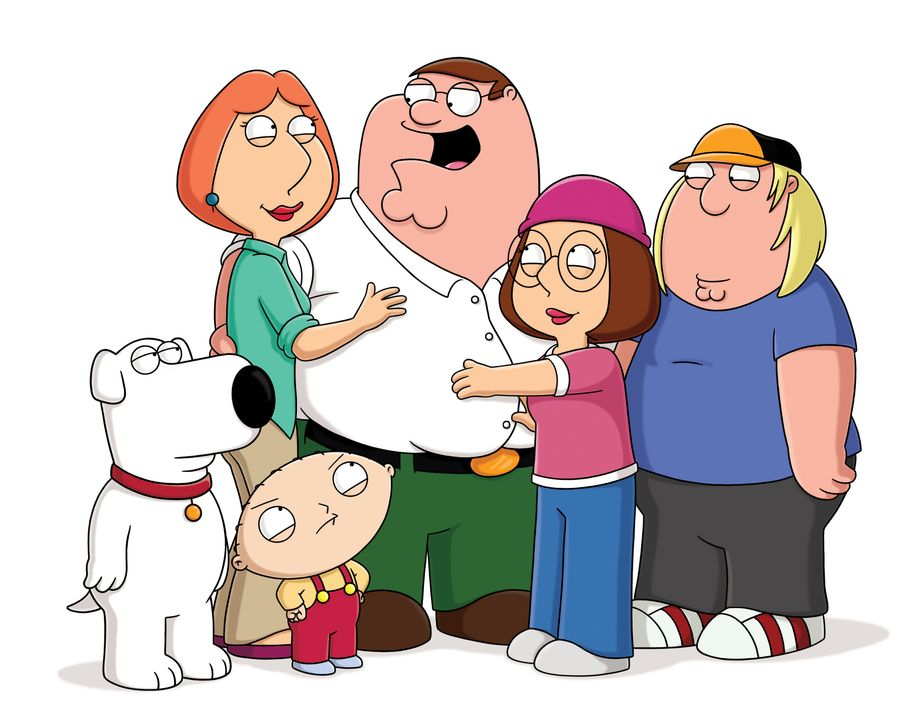 (18. Staffel) - (v.l.n.r.) Brian Griffin; Lois Griffin; Stewie Griffin; Peter Griffin; Meg Griffin; Chris Griffin - Bildquelle: 2018-2019 Fox and its related entities. All rights reserved.