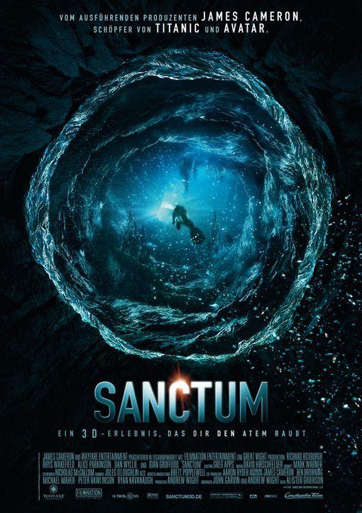 Sanctum - Plakatmotiv - Bildquelle: 2011 Constantin Film Verleih GmbH.