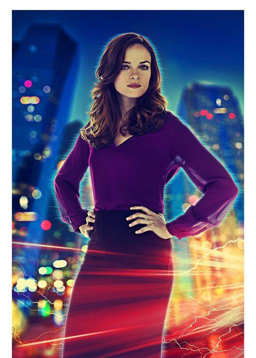 (1. Staffel) - Verlor bei einer Explosion in den STAR Labs ihren Verlobten: Caitlin Snow (Danielle Panabaker), Expertin auf dem Gebiet des Bioingeni... - Bildquelle: Warner Brothers.