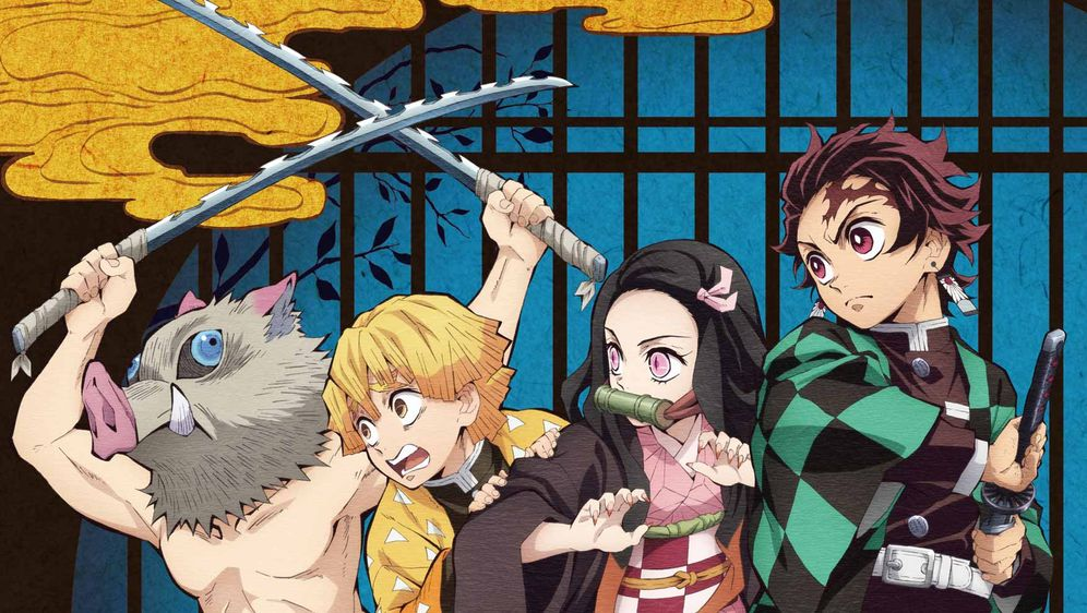 - Bildquelle: Koyoharu Gotoge / SHUEISHA, Aniplex, ufotable