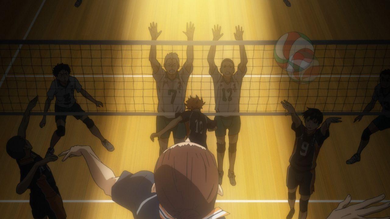 """Haikyu!! - Gewinner und Verlierer - Bildquelle: H. Furudate / Shueisha, """"HAIKYU!!"""" Project, MBS  All Rights Reserved."""