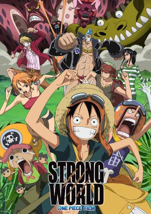 STRONG WORLD - Plakat - Bildquelle: Eiichiro Oda/Shueisha, Toei Animation