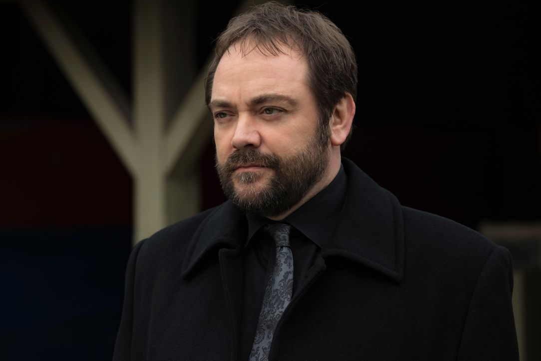 Crowley (Mark Sheppard) - Bildquelle: Robert Falconer 2016 The CW Network, LLC. All Rights Reserved / Robert Falconer