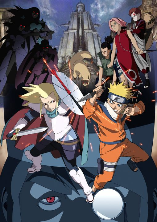 NARUTO - THE MOVIE 2: DIE LEGENDE DES STEINS VON GELEL - Artwork - Bildquelle: 2002 Masashi Kishimoto.   NMP 2005.