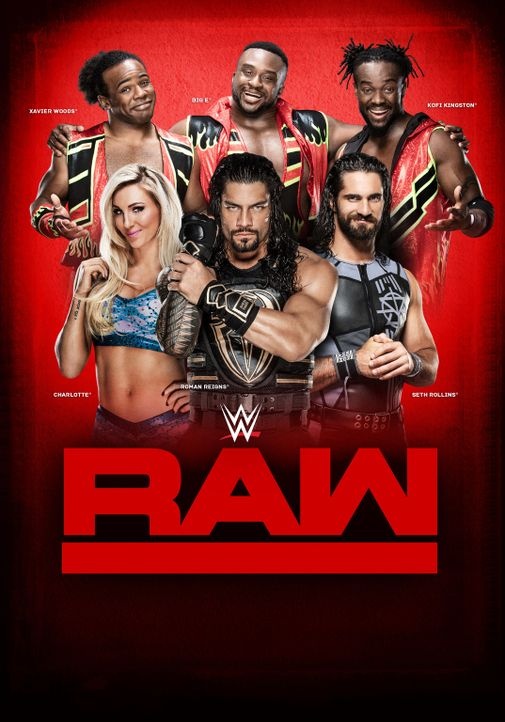 WWE RAW - Artwork - Bildquelle: TM &   2016 WWE. All Rights Reserved.