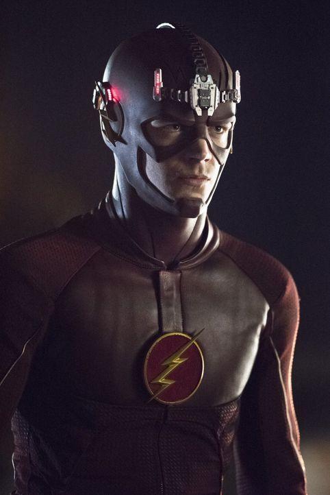 Nachdem Iris die wahre Identität von Flash erfahren hat, ändert sich für Barry (Grant Gustin) alles ... - Bildquelle: Warner Brothers.