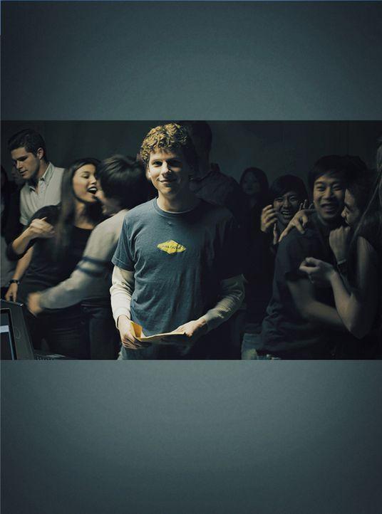 Noch ahnt Harvard-Student Mark Zuckerberg (Jesse Eisenberg) nicht, dass sein zukünftiger Weg nicht nur gesäumt ist von Partys und Erfolgen, sondern... - Bildquelle: 2010 Columbia Pictures Industries, Inc. and Beverly Blvd LLC. All Rights Reserved.