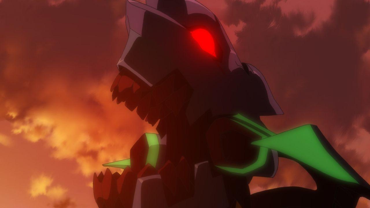 Werden es Rei, Shinji und Asuka zusammen schaffen, den Engel zu zerstören? - Bildquelle: khara, GAINAX. All rights reserved