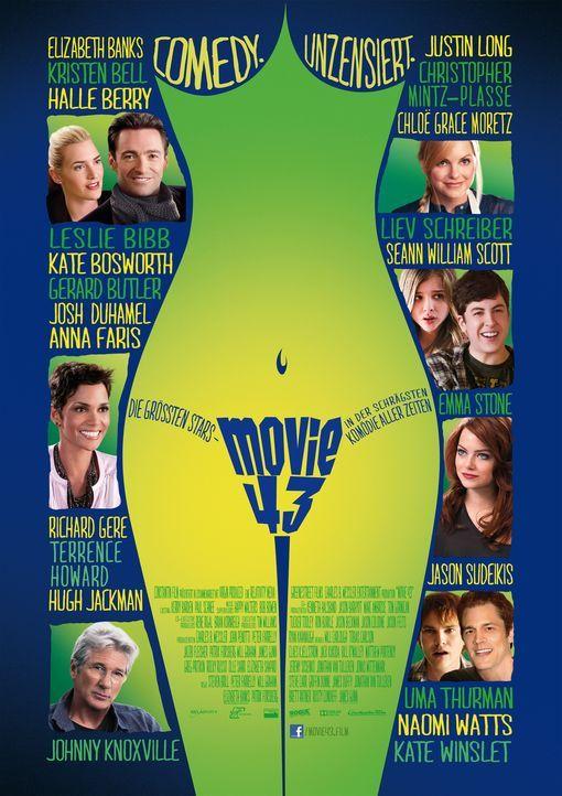 MOVIE 43 - Plakatmotiv - Bildquelle: Constantin Film Verleih GmbH