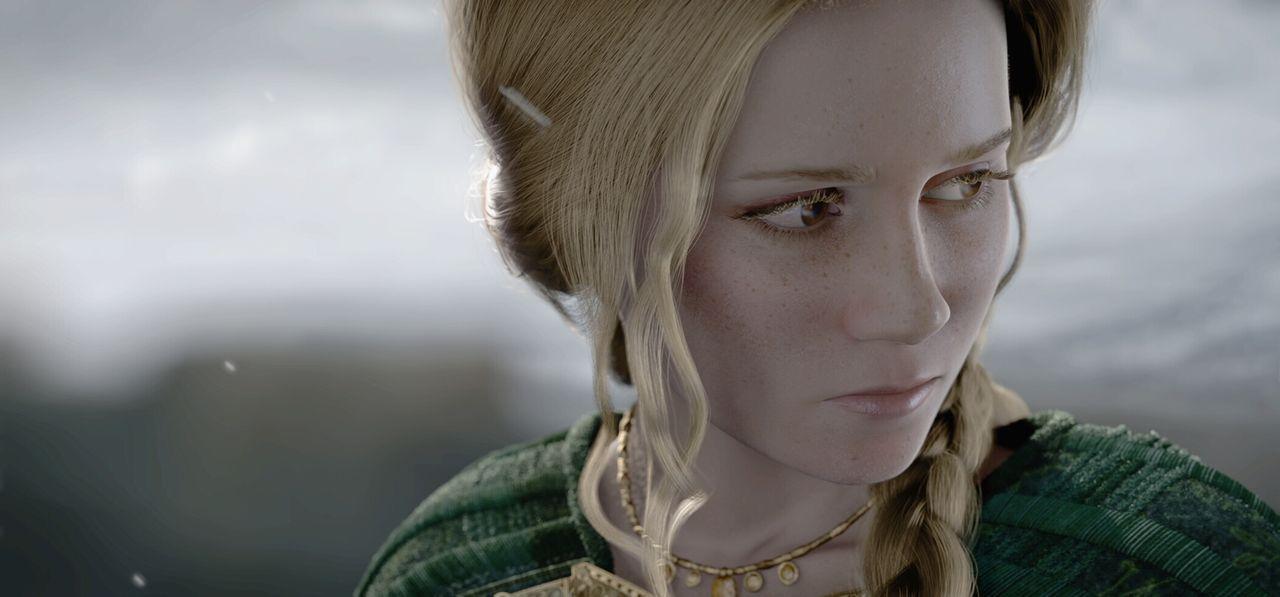 Noch ahnt Ursula (Alison Lohman) nicht, dass ihr Geliebter einen Drachen gezeugt hat, der ihr nach dem Leben trachtet ... - Bildquelle: 2007 Warner Brothers International Television Distribution Inc.
