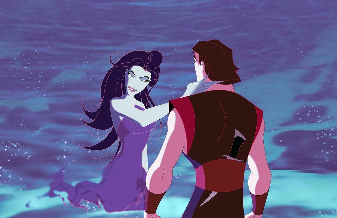 Sinbad erhält von der bösen Göttin Eris den Auftrag, das magische Buch des Friedens aus der Stadt Syrakus zu stehlen. Der Prinz von Syrakus jedoch e... - Bildquelle: DreamWorks SKG