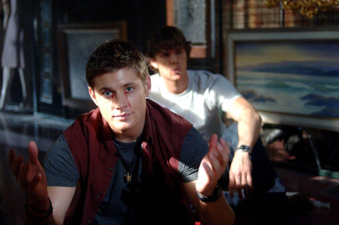 Was ist mit Sam (Jared Padalecki, r.) und Dean (Jensen Ackles, l.) geschehen? Haben sie dies Bloody Mary zu verdanken? ... - Bildquelle: Warner Bros. Television