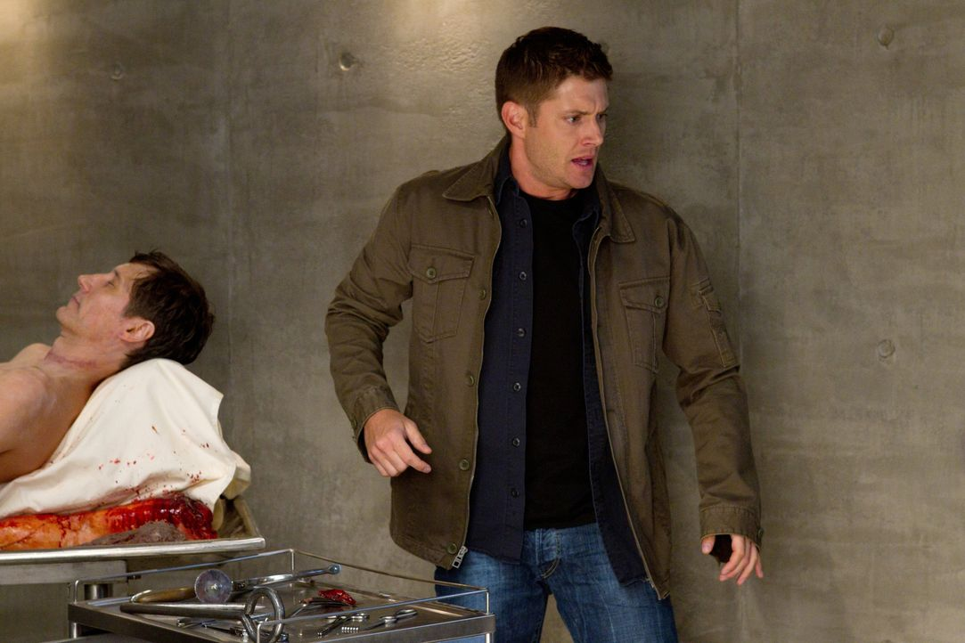 Die Wahrheit kann wehtun, dass muss auch Dean (Jensen Ackles, r.) feststellen, als er der Königin der Wahrheit verfällt  ... - Bildquelle: Warner Bros. Television