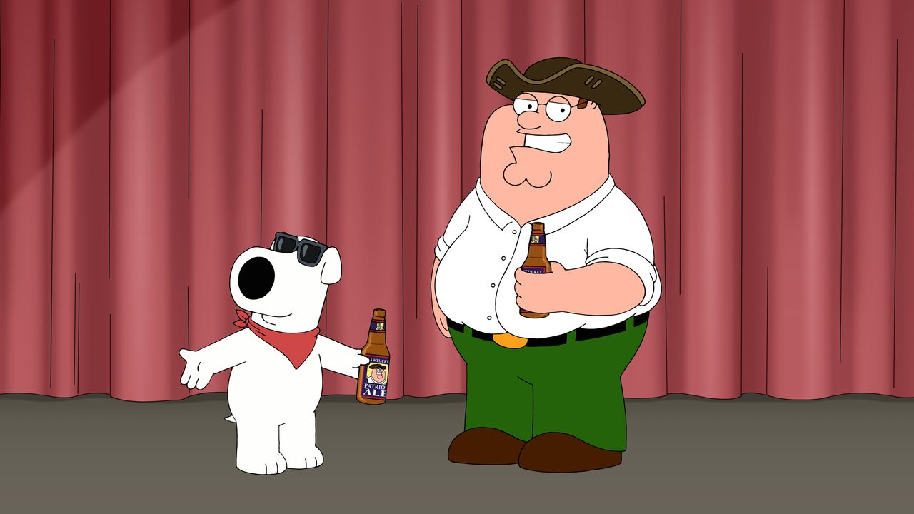 Brian Griffin (l.); Peter Griffin (r.) - Bildquelle: 2018-2019 Fox and its related entities. All rights reserved.