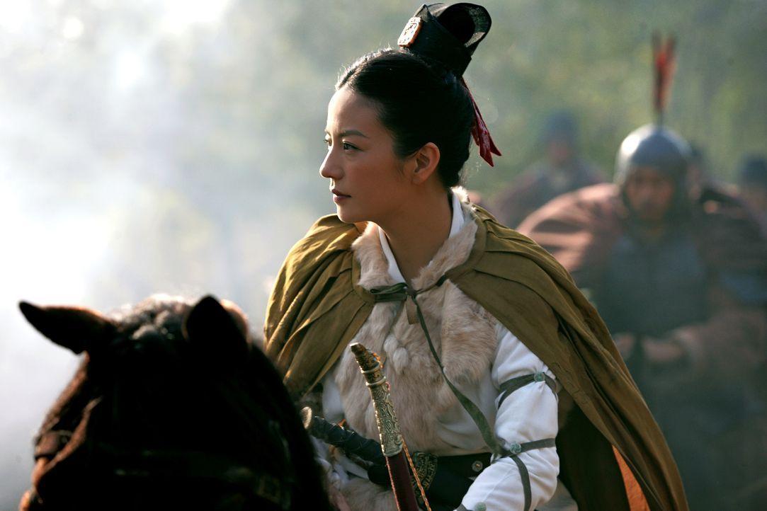 Die mutige Prinzessin Sun Shangxiang (Wei Zhao) lässt es sich nicht nehmen, selbst in den Krieg zu ziehen ... - Bildquelle: Constantin Film Verleih GmbH