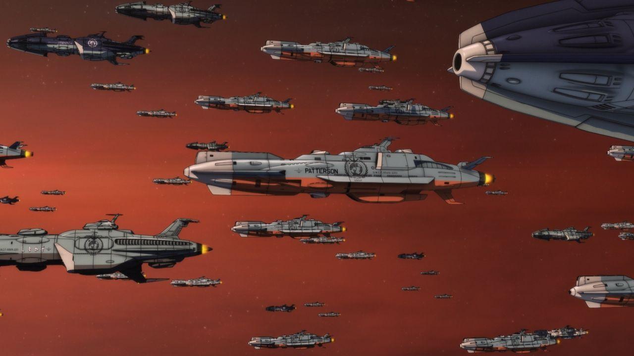 Erwache wieder zum Leben, Space Battleship Yamato! - Bildquelle: S.NISHIZAKI/VOYAGER ENTERTAINMENT/STAR BLAZERS 2202 Production Committee