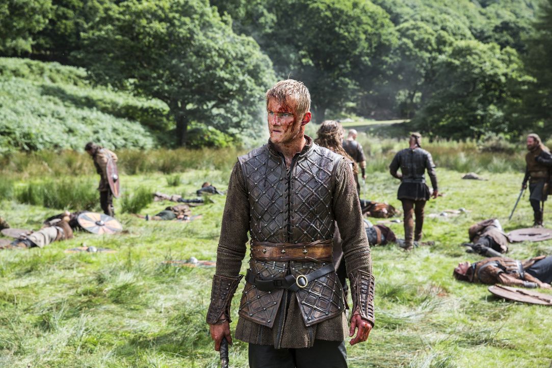 Zieht mit seinem Vater in den Kampf gegen Jarl Borg: Bjorn (Alexander Ludwig) ... - Bildquelle: 2014 TM TELEVISION PRODUCTIONS LIMITED/T5 VIKINGS PRODUCTIONS INC. ALL RIGHTS RESERVED.