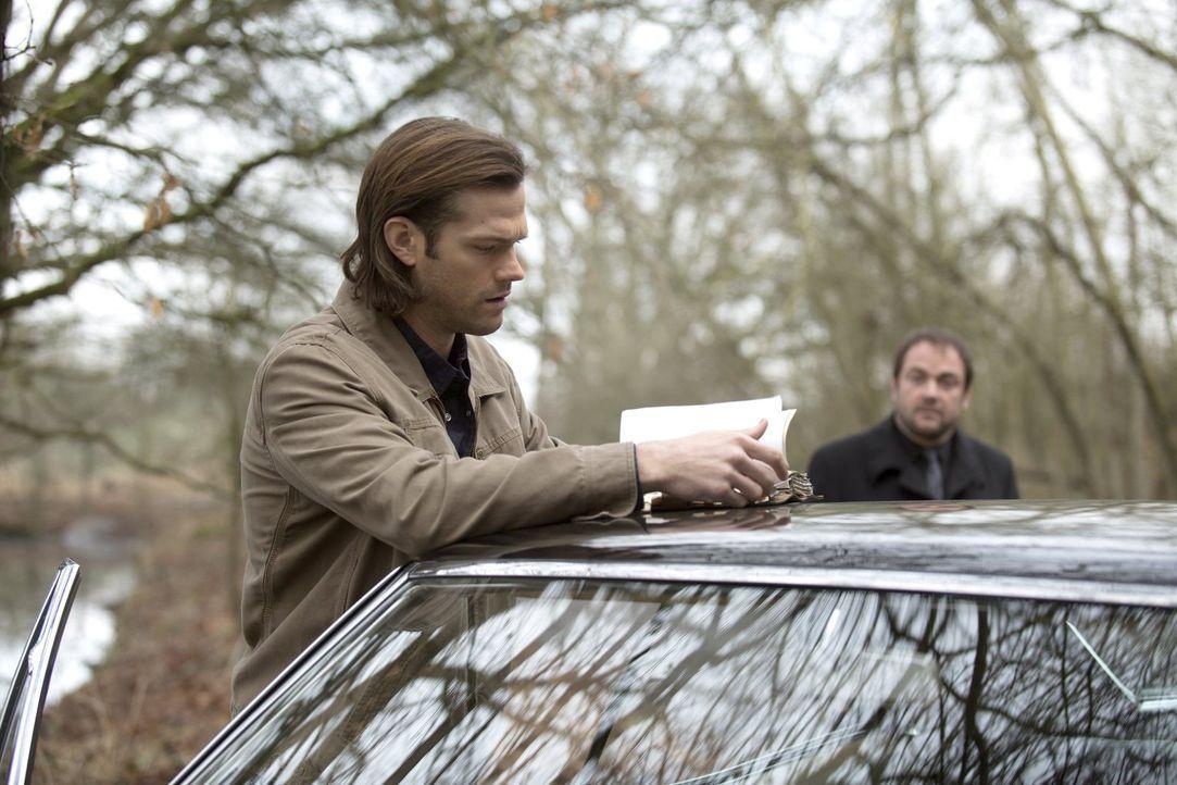 Nachdem der seltsame Mann der Schriften seinen Bruder gefangen genommen hat, muss Sam (Jared Padalecki) einen Weg finden, ihn aus dessen Sammlung zu... - Bildquelle: 2013 Warner Brothers