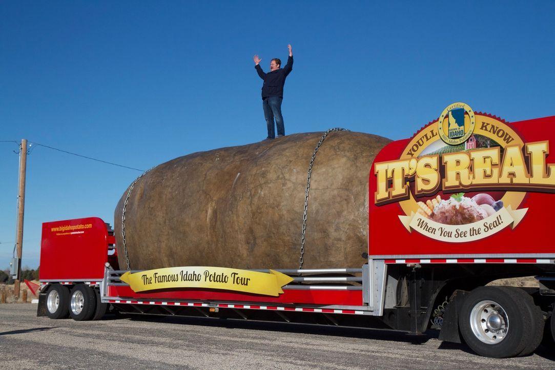 Casey Webb reist diesmal nach Boise im Bundesstaat Idaho, wo sich alles um die Kartoffel dreht ... - Bildquelle: 2018, The Travel Channel, LLC. All Rights Reserved.