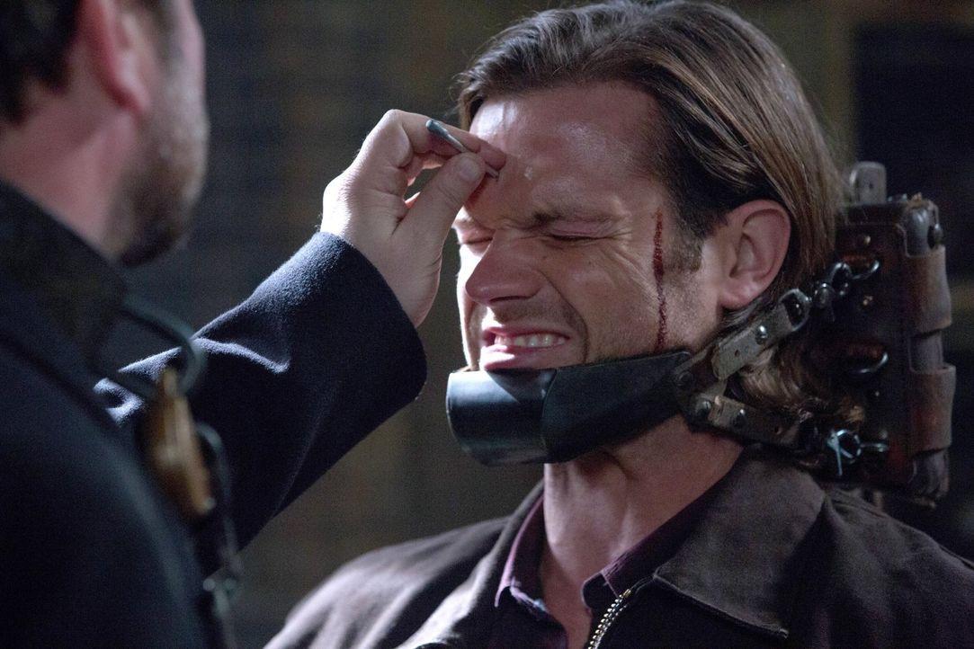 Gadreel (Jared Padalecki) glaubt in Sams Körper unbesiegbar zu sein, doch er hat nicht mit dem König der Hölle gerechnet ... - Bildquelle: 2013 Warner Brothers