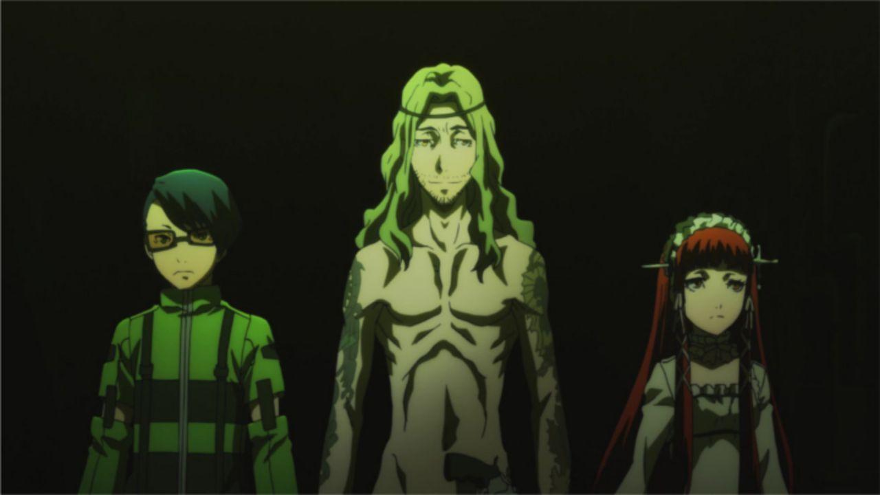 (v.l.n.r.) Jin Shirato; Takaya Sakaki; Chidori Yoshino - Bildquelle: ATLUS   SEGA/PERSONA3 the Movie Committee