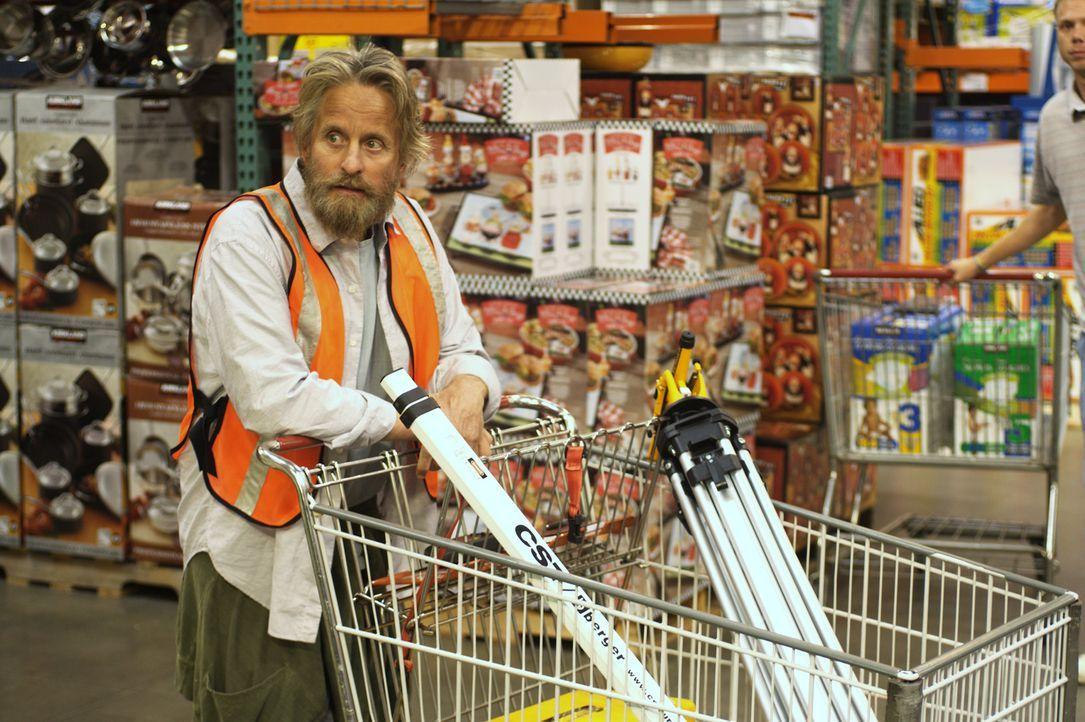 Nachdem sämtliche Recherchen auf den Ort deuten, wo der Goldschatz liegen muss, gibt's für Charlie (Michael Douglas) kein Halten mehr - auch wenn di... - Bildquelle: Nu Image