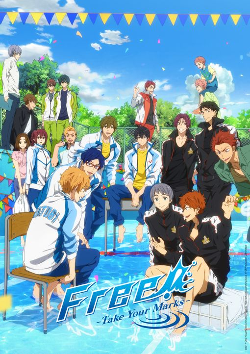 Free! Take Your Marks - Artwork - Bildquelle: 2017 Ohji Kouji/Kyoto Animation/Iwatobi High School Swimming Club TYM Production Committee