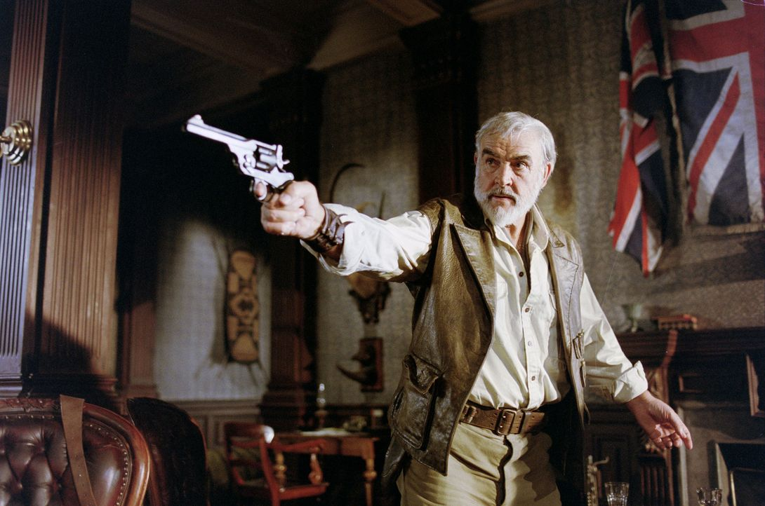 Zeigt allen noch einmal, was er drauf hat: Auch im Alter ist Allan Quatermain (Sean Connery) nicht zu besiegen ... - Bildquelle: 20th Century Fox International