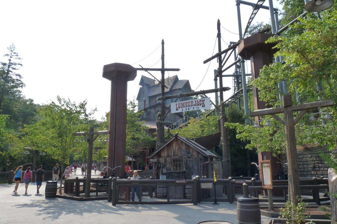 Wird heute auch gecheckt: der Dollywood Freizeitpark in Tennessee ... - Bildquelle: 2014, GAC/Scripps Networks, LLC. All Rights Reserved.