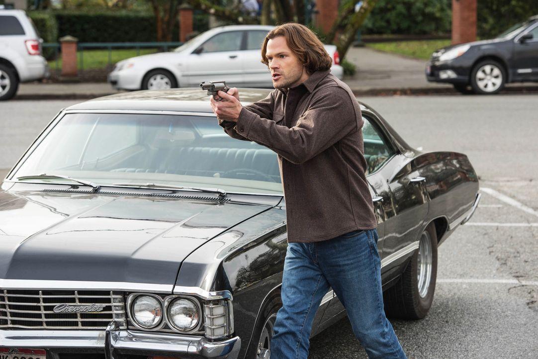 Sam (Jared Padalecki) - Bildquelle: Dean Buscher 2018 The CW Network, LLC. All Rights Reserved / Dean Buscher