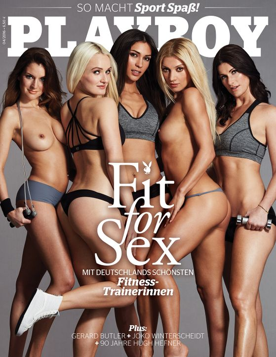 Playboy Cover April 2016 - Bildquelle: Sacha Höchstetter für Playboy April 2016