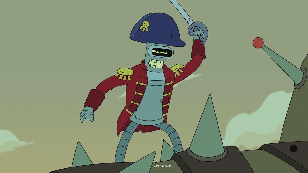 Bender hat es mit einem ganz besonderen Gegner zu tun! - Bildquelle: Twentieth Century Fox Film Corporation. All rights reserved.