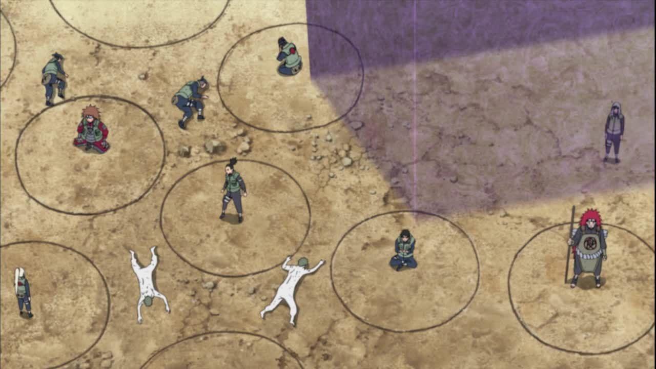 Der Kampf gegen die Zetsu-Klone bedarf strategischen Denkens