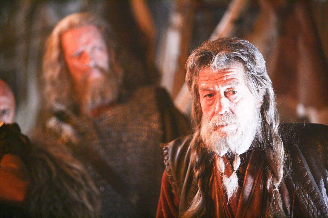 Im Jahre 709 landet ein Außerirdischer samt einem mörderischen blinden Passagier in Wikinger-König Rothgars (John Hurt) Reich. Sofort beginnt das Al... - Bildquelle: Telepool