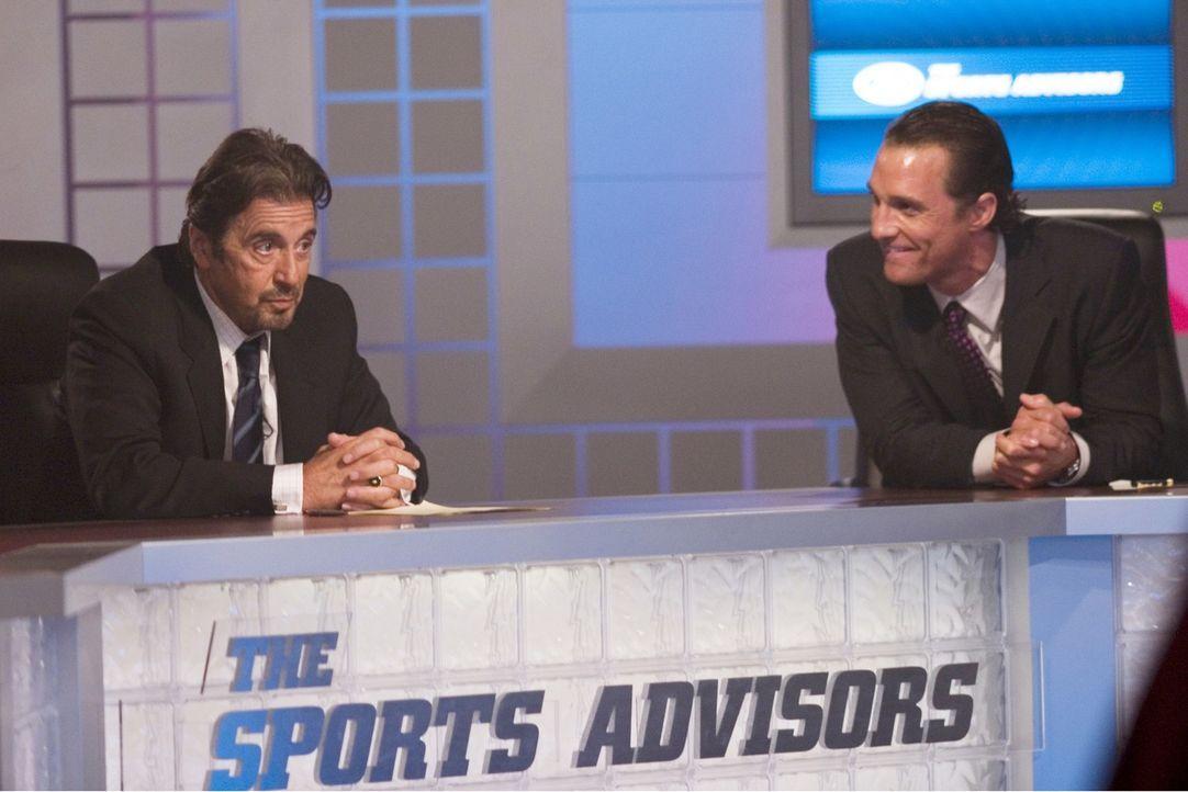 Heben die Wettwelt aus den Angeln: Doch dann verlässt Brandon (Matthew McConaughey, r.) und Walter (Al Pacino, l.) das Glück ... - Bildquelle: Morgan Creek Productions